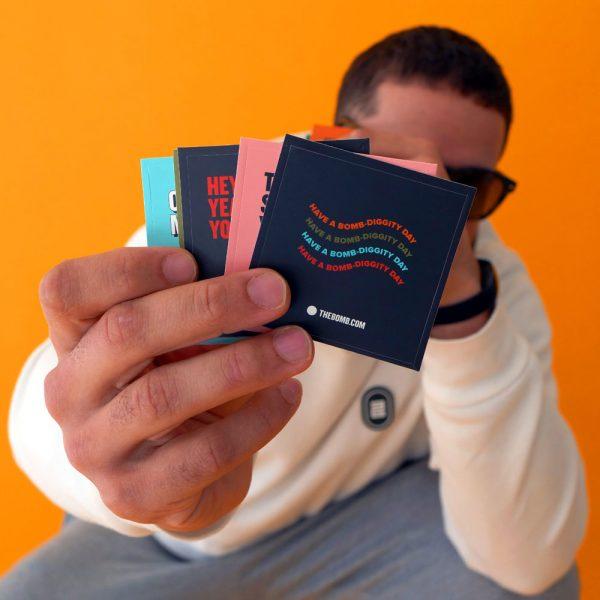 THEBOMB.COM Sticker Pack
